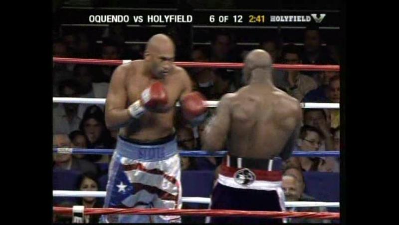 Evander Holyfield vs Fres Oquendo 10 11 2006