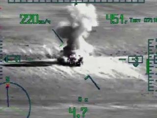 Ночная операция по захвату н.п. Эль-Кдер ВС САР при поддержке ВКС РФ
