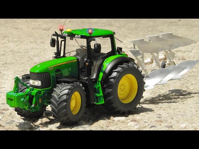 Traktor i Wesoły Samochody Przygody na Farmie Bajki dla Dzieci po Polsku Agricultural Machinery
