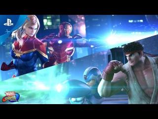 Marvel vs. Capcom: Infinite - PSX 2016: Reveal Trailer | PS4