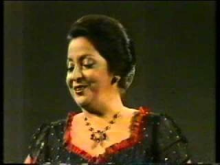 Teresa Berganza Tango de la Menegilda La Gran Vía