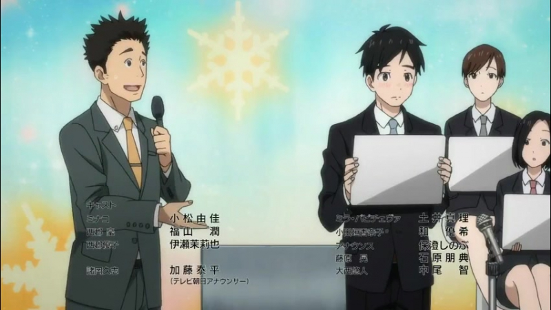 Yuri on Ice English Dub Yuuri's speech on love episode 5