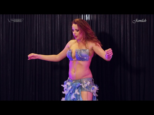 Jamilah with Khader Ahmad Belly dance DRUM SOLO 2017