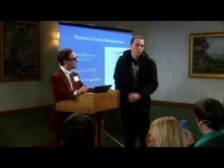 The Big Bang Theory  - Leonard and Sheldon fighting
