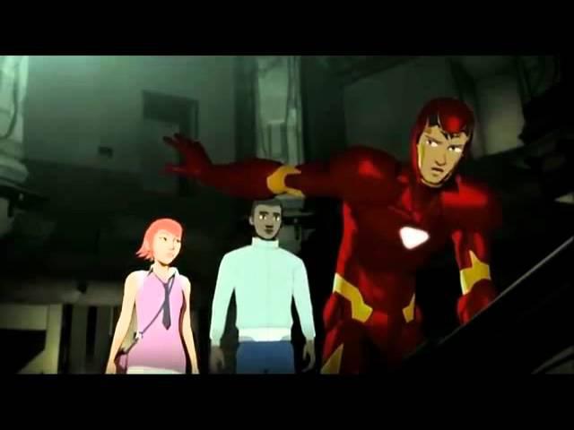 Iron Man Armored Adventures Железный Человек Приключения в броне