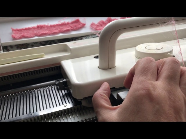 Фестончатый волнообразный край на резинках scalloped shaped edge when knitting rubber bands