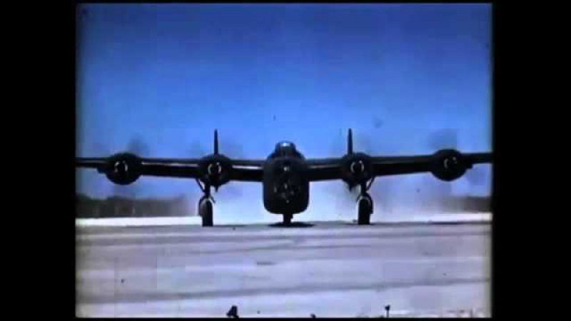 FLYING THE CONSOLIDATED B 24 LIBERATOR Part 1