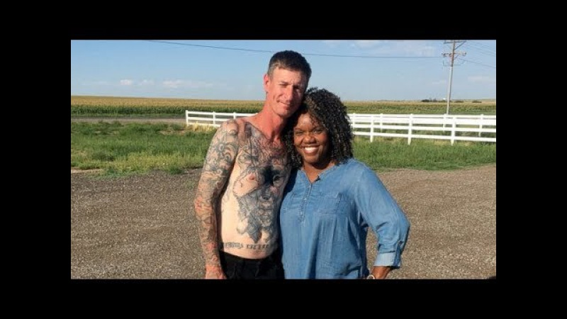 Former neo Nazi removes swastika tattoos after unlikely friendship