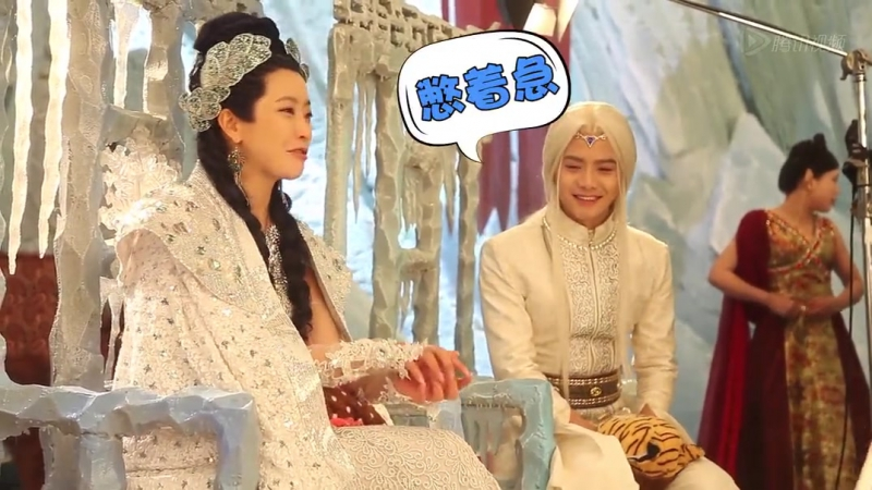 Мини-BTS Ледяной фантазии 【马天宇】幻城幕后花絮_未传小合集(7)
