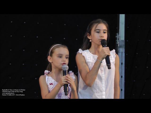 Raphaelle et Nina L'oiseau et L'enfant Pertuis 2017
