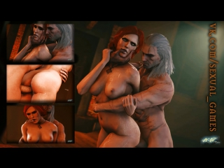 Lips of the Witch (The Witcher sex)