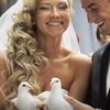 Свадебные голуби на свадьбу   Екатеринбург