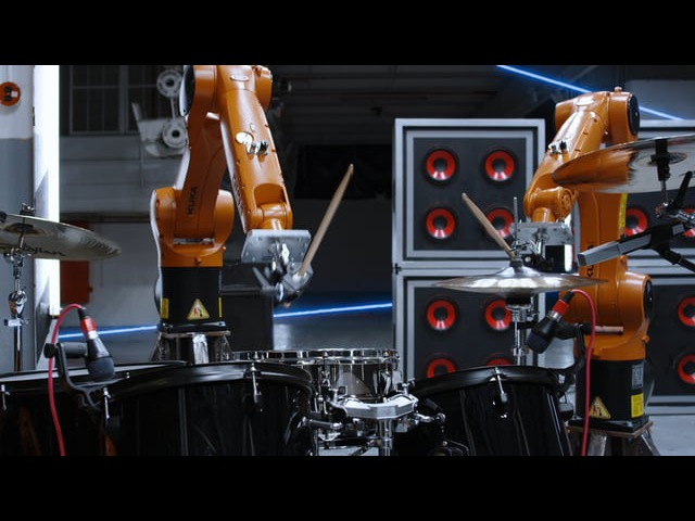 AUTOMATICA Robots Vs Music Nigel Stanford