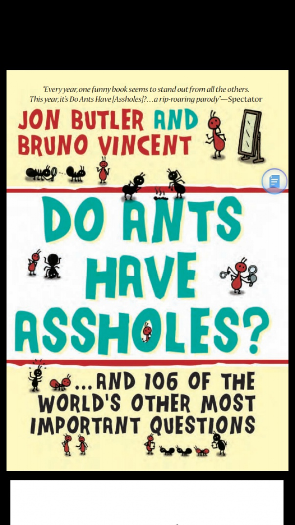 Do Ants Have Assholes and 106