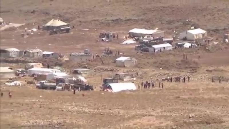 KRIEG in SYRIEN Flüchtlinge stranden vor israelischer Grenze