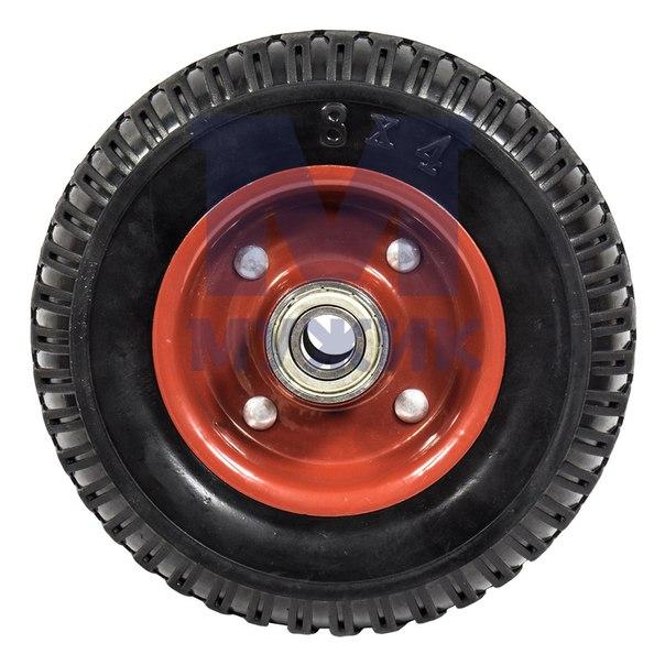 Цельно-резиновое колесо – Мужик