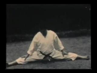 """Учебный фильм """"Динамика техники каратэ-до Шотокан"""" ч. 1. (1954 г.)"""