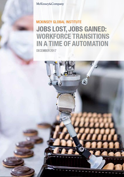 MGI Report Jobs lost, jobs gained Workforce transitions in a time of automation