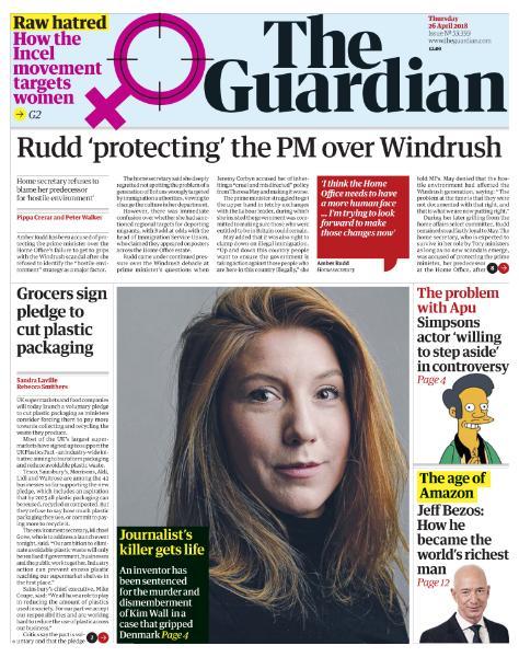 The Guardian - April 26, 2018