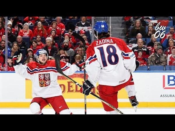 Filip Zadina 2018 IIHF WJC Highlights