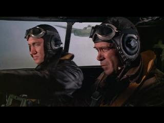 Атака 1000 самолетов (1969) Бой американских бомбардировщиков с мессерами