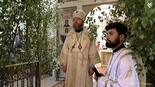Владыка Тихон: проповедь в храме св. князя Александра Невского