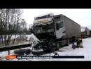 Na dálnici D1 u Brna se 16.1.2018 odpoledne stala hromadná nehoda zhruba 50 aut, další hromadná nehoda se stala u Humpolce