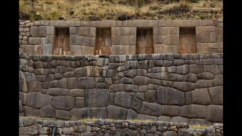 Part III Ancient Magic of Cusco Puca Pucara Tambomachay Quenco Полигональная кладка Часть 3