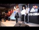 [PERFOMANCES] 180125 Сандара на открытии Центра Adidas Central World c 'FIRE' в Бангкоке, Таиланд