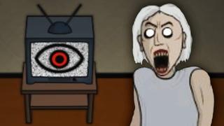 СИМУЛЯТОР БАБУЛИ ГРЕННИ! ПОМОГАЕМ жуткой БАБКЕ ВЫЙТИ ИЗ ЕЁ ЖЕ ДОМА Прохождение игры Granny 2D