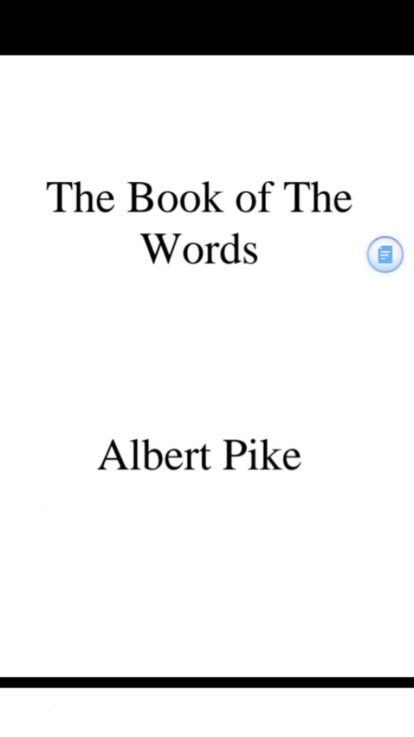 Albert Pike - Magnum Opus or the Great Work