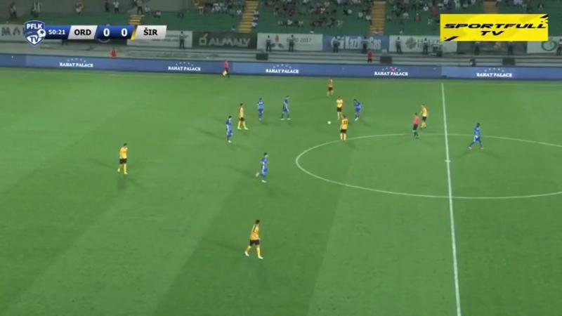 56 EL 2017 2018 FK Ordabasy Široki Brijeg 0 0 06 07 2017 FULL