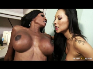 Asa Akira _ Diamond Jackson _ Keiran Lee _ brazzers porn _ Asian _ Big Tits _ Bieber Blowjob creampie anal black interracial