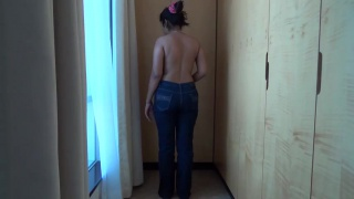 Фигуристая мулатка (Девушки HD секс порно видео мама и сын жесть жесткое сперма любительское секретарши)