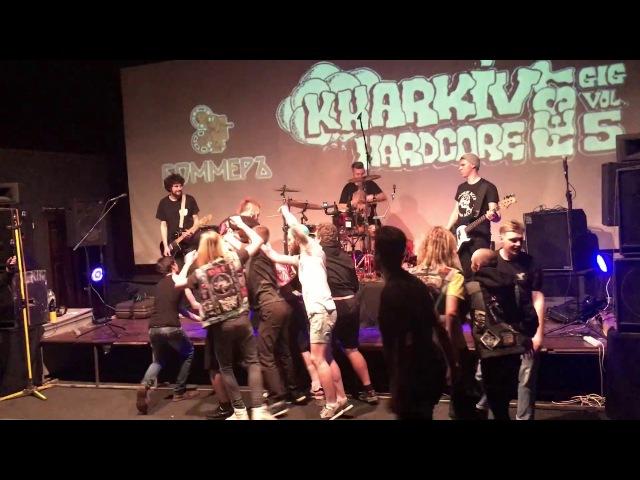 ZRADA Full Set @ Kharkiv Hardcore FEST April 8th 2017