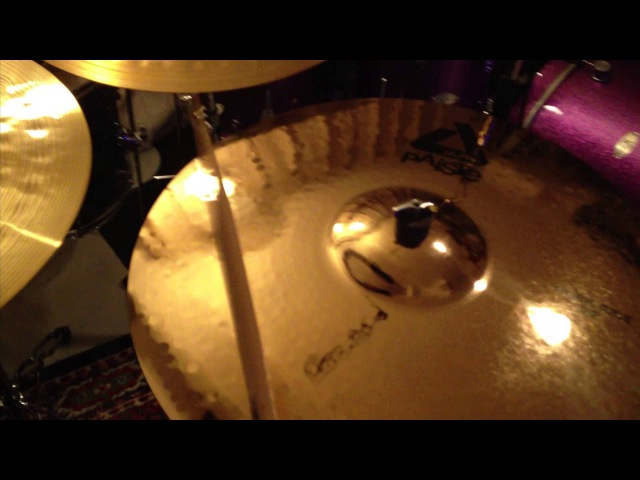 Paiste 22 ride cymbal comparison 2