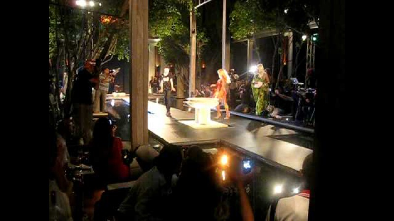 A*Muse Fashion Show at Funkshion Fashion Week with Pam Anderson Setai Hotel South Beach pt 2