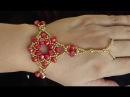 Passo a passo de uma Linda Pulseira de Cristais estilo INDIANA Maguida Silva