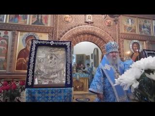 Святогорье.Успение Пресвятой Богородицы.Проповедь Владыки Сергия.