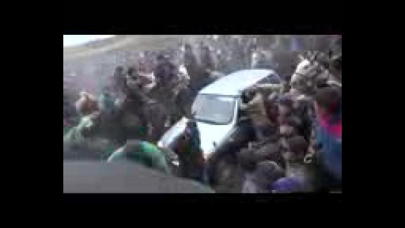 Ерсайын палуан Дөнен Бақыт ағамыздын берген көкпарда ақырын машинаға салды Кокпар