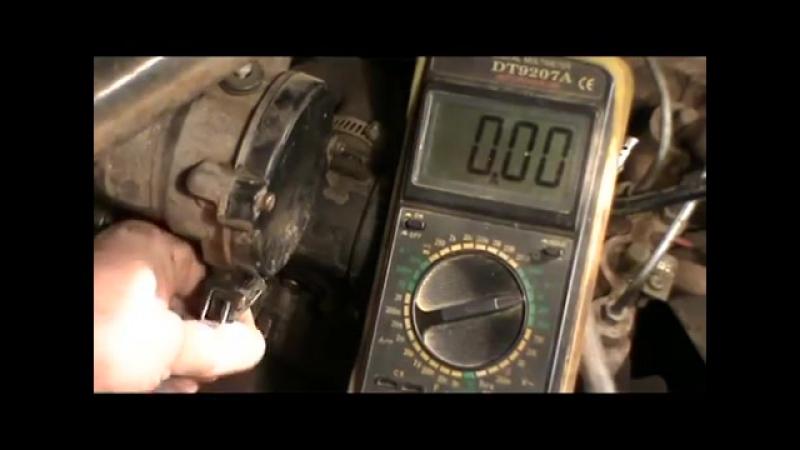 Датчик Холла проверка при помощи мультиметра
