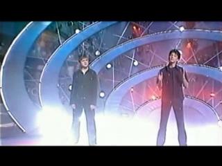 Сергей Лазарев и Влад Топалов. Belle (Голубой Огонёк-2003)