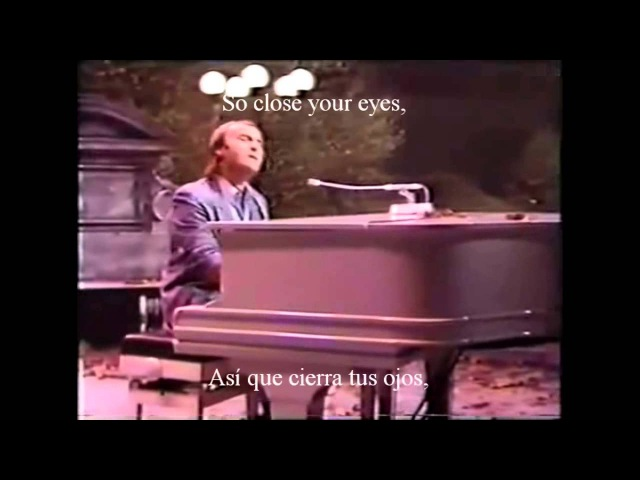 Phil Collins Why cant it wait til morning Lyrics Traducción