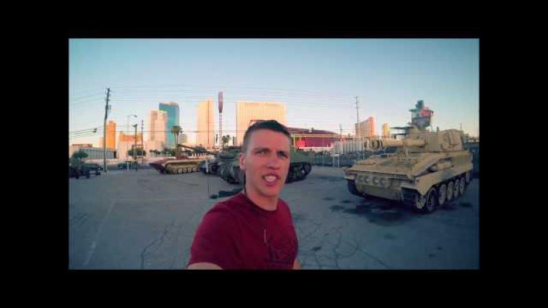 Русские танки в США Русский Т55 против M46 Паттон Стреляем по Бен Ладену из пулеме