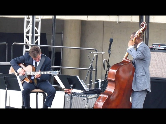 Ron Carter and Peter Bernstein St Thomas LIVE @ Detroit Jazz Festival 2014
