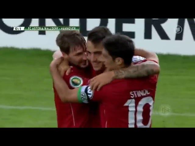 FC Astoria Walldorf - Hannover 96 DFB Pokal