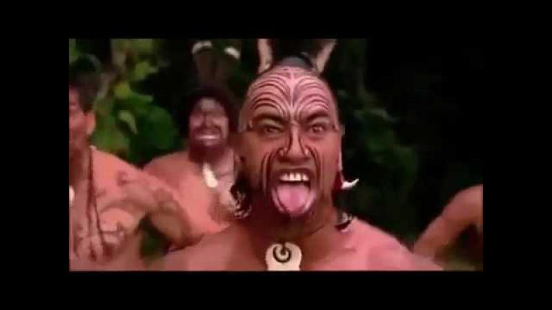 Я бы сразу убежала Устрашающий танец племени маори Новая Зеландия