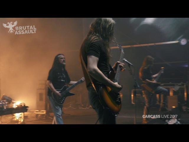 Brutal Assault 22 Carcass live 2017