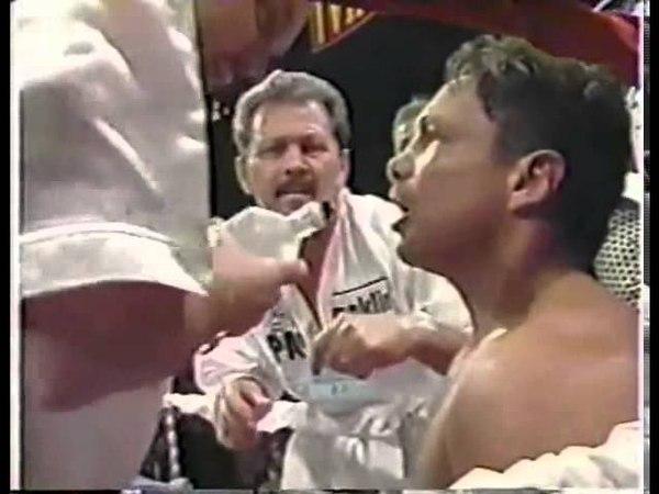 Roberto Duran vs Vinny Pazienza 1994 Пазманский дьявол 1 бой