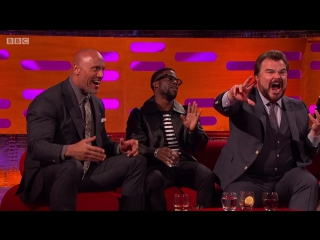 The Graham Norton Show 22x10 - Jessica Chastain, Dawn French, Rebel Wilson, Dwayne Johnson, Kevin Hart, Jack Black